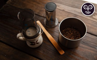 Paleo Recipe How To Make an Aeropress Americano