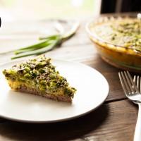 Paleo Recipe Paleo Broccoli Quiche with Lamb Crust