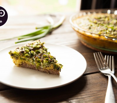 Paleo Recipe Paleo Broccoli Quiche with Lamb Crust