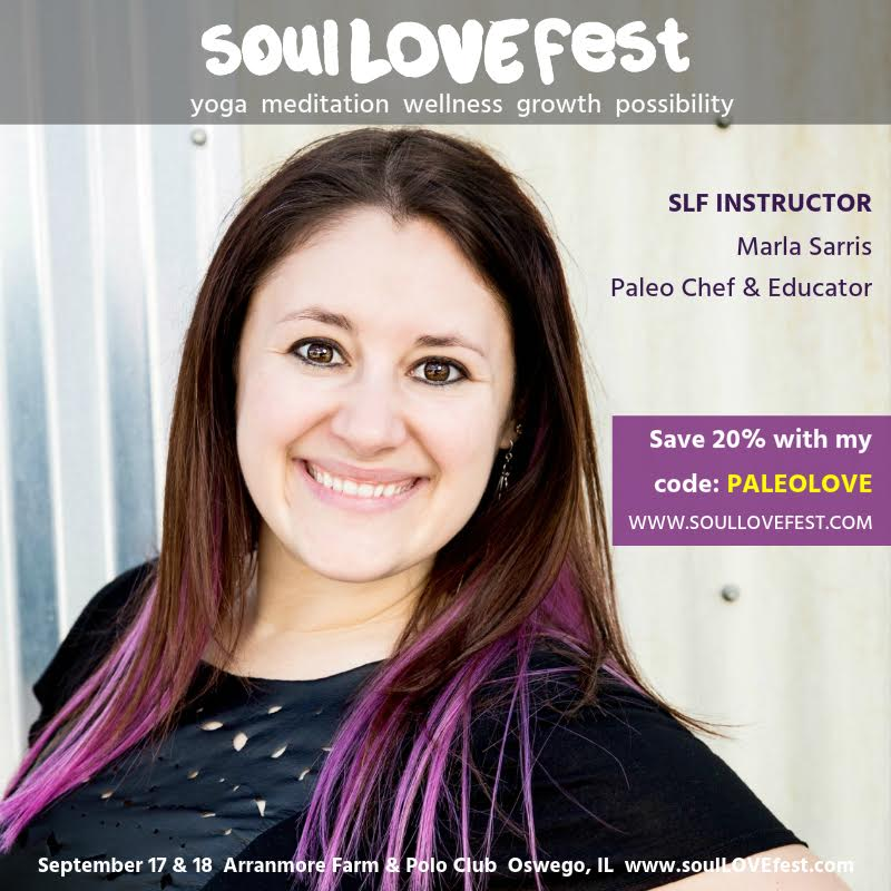Marla Sarris At SoulLOVEfest