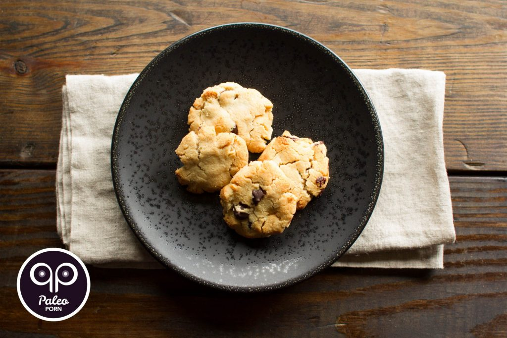 Dairy Free Paleo Chocolate Chip Cookies