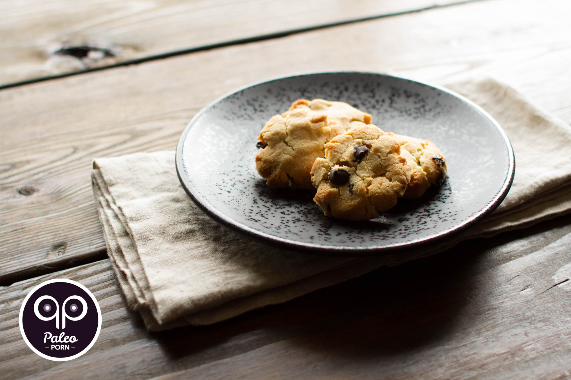 Paleo Chocolate Chip Cookies (Egg & Dairy Free) - Paleo Porn ...
