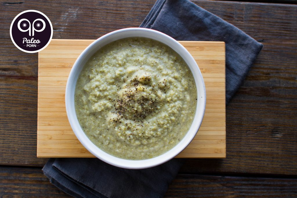Paleo Cream of Broccoli Soup (Dairy Free)