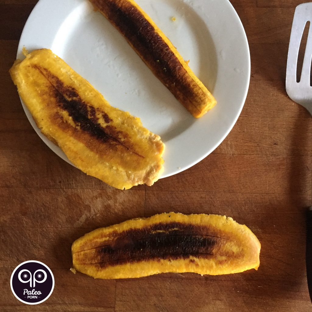 Flattened Plantains
